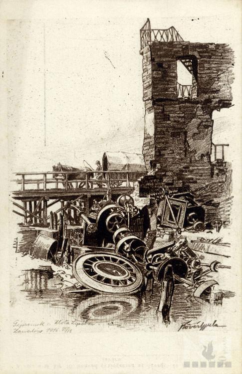 Első világháború | 1917. március 10. | Nádasdy Ferenc Múzeum